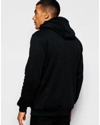 Adidas Originals - Black Zip Up Hoodie With Fleece Lining Ab8034 for Men - Lyst