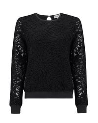 Almost Famous - Black Appliqué Jumper - Lyst