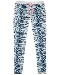 Juicy Couture | Blue Sunkissed Printed Pyjama Trousers | Lyst