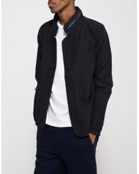 La Panoplie - Blue Taslon Jacket for Men - Lyst