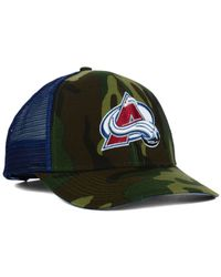 Reebok | Green Colorado Avalanche Camo Trucker Cap for Men | Lyst