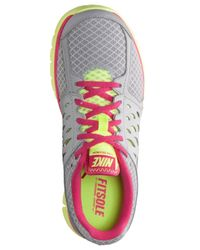 Nike - Gray Women'S Flex Run 2013 Running Sneakers From Finish Line - Lyst