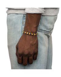 Lulu Frost - Black George Frost Woven Bracelet for Men - Lyst