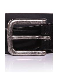 BOSS Orange - Black Cowhide Belt 'jimmy' for Men - Lyst