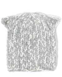 Eugenia Kim - Gray Light Grey Felix Alpaca-blend Cat Ear Beanie - Lyst