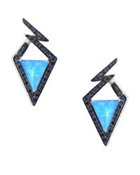 Stephen Webster | Blue Lady Stardust Sapphire Earrings | Lyst