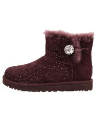UGG | Purple Mini Bailey Button Bling Constellation | Lyst