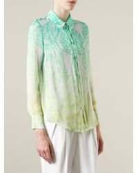 Matthew Williamson | Green Wing Lace Print Shirt | Lyst