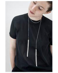 Saskia Diez | Metallic Fringe Necklace Number Five | Lyst