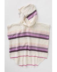 lemlem | Pink Debizaza Hooded Poncho | Lyst