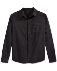KR3W | Black Matthews Long-sleeve Shirt for Men | Lyst