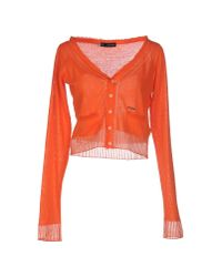 DSquared² | Orange Cardigan | Lyst