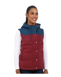 Patagonia | Blue Bivy Hooded Vest | Lyst