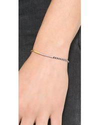 Shashi - Pink Sam Bracelet Neon Coral - Lyst