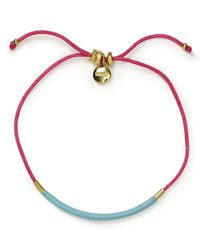 Marc By Marc Jacobs - Blue Enamel Dipped Friendship Bracelet - Lyst