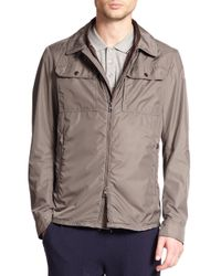 Moncler - Gray Tany Zip-front Jacket for Men - Lyst