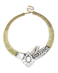BaubleBar - Metallic Threaded Jurassic Collar - Lyst
