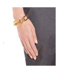 Balenciaga | Metallic Maillon Gold-tone Cuff | Lyst