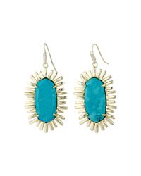 Kendra Scott | Metallic Mariah Earrings | Lyst