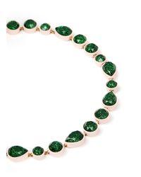 J.Crew - Green Sea Glass Brulée Necklace - Lyst