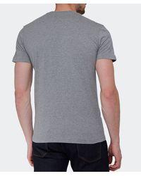 La Martina | Gray Logo T-Shirt for Men | Lyst