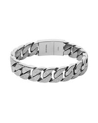 DIESEL | Metallic Bracelet Dx0914 for Men | Lyst