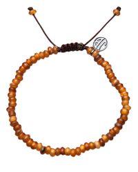 Joseph Brooks | Brown Beaded Bracelet for Men | Lyst