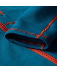 Peak Performance - Blue Heli Stretch-jersey Mid-layer for Men - Lyst