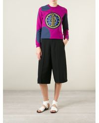 KENZO | Multicolor Dots and Liberty Cotton Sweatshirt | Lyst