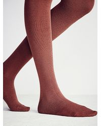 Free People | Brown Look Womens Color Grained Tight | Lyst
