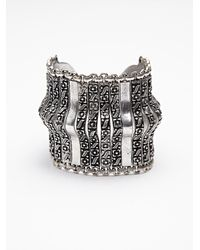 Free People | Metallic Womens Metal Spine Cuff | Lyst