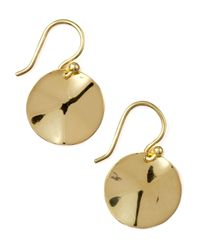 Ippolita | Metallic Wavy Disc Earrings | Lyst
