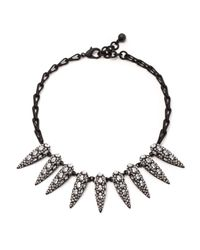 Lulu Frost | Metallic Jabrosa Spike Necklace | Lyst