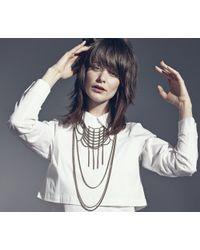 Jenny Bird - Metallic Gaia's Weave - Lyst