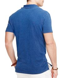 Polo Ralph Lauren   Blue Featherweight Polo Shirt for Men   Lyst