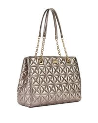 kate spade new york | Metallic Sedgewick Place Phoebe Quilted Leather Shoulder Bag | Lyst