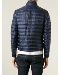 Moncler - Blue 'Daniel' Padded Jacket for Men - Lyst