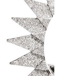 Runa - Metallic Diamond Sun Ear Cuff - Lyst