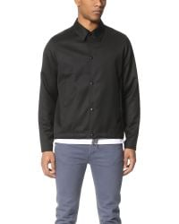 PS by Paul Smith | Black Coach Jacket for Men | Lyst