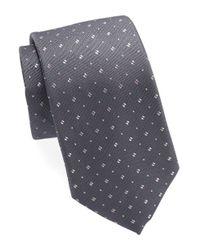 Michael Kors | Purple Patterned Silk Tie for Men | Lyst