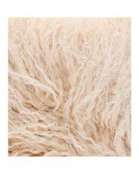 Miu Miu - Natural Shearling Collar - Lyst