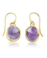 Monica Vinader | Multicolor Siren Wire Earrings | Lyst