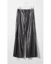 J Brand - Black Carine Leather Pants - Lyst