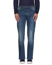 Z Zegna - Blue Denim Pants for Men - Lyst