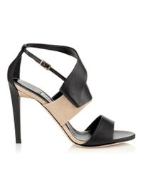 Jimmy Choo - Black Trapeze 100 - Lyst