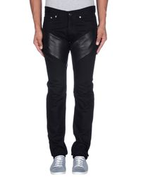 Givenchy - Black Denim Trousers for Men - Lyst