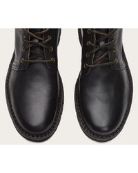 Frye - Black Holden Leather Chukka Boots for Men - Lyst