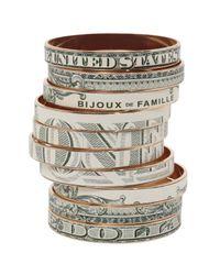 Bijoux De Famille - Natural Dollar Bangles - Lyst