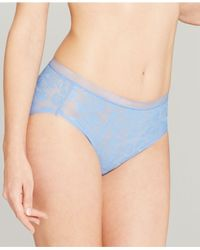 Wacoal | Blue Awareness Lace High-cut Brief 871101 | Lyst