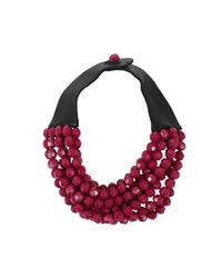Fairchild Baldwin | Red Bella Beaded Necklace | Lyst